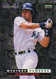 1999 Black Diamond Mystery Numbers #M8 Derek Jeter/800