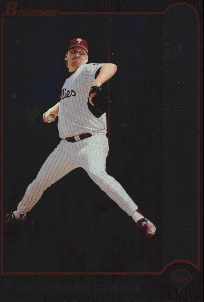 1999 Bowman International #24 Curt Schilling