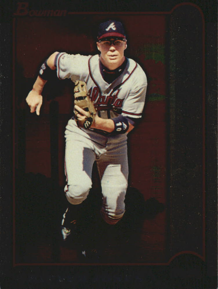 1999 Bowman International #43 Chipper Jones