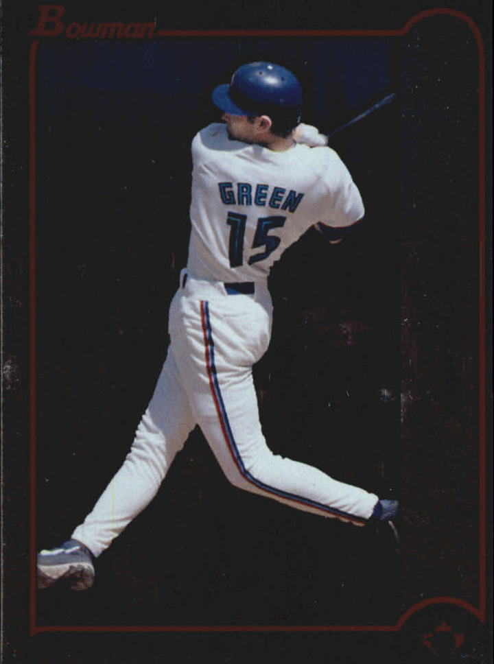 1999 Bowman International #243 Shawn Green
