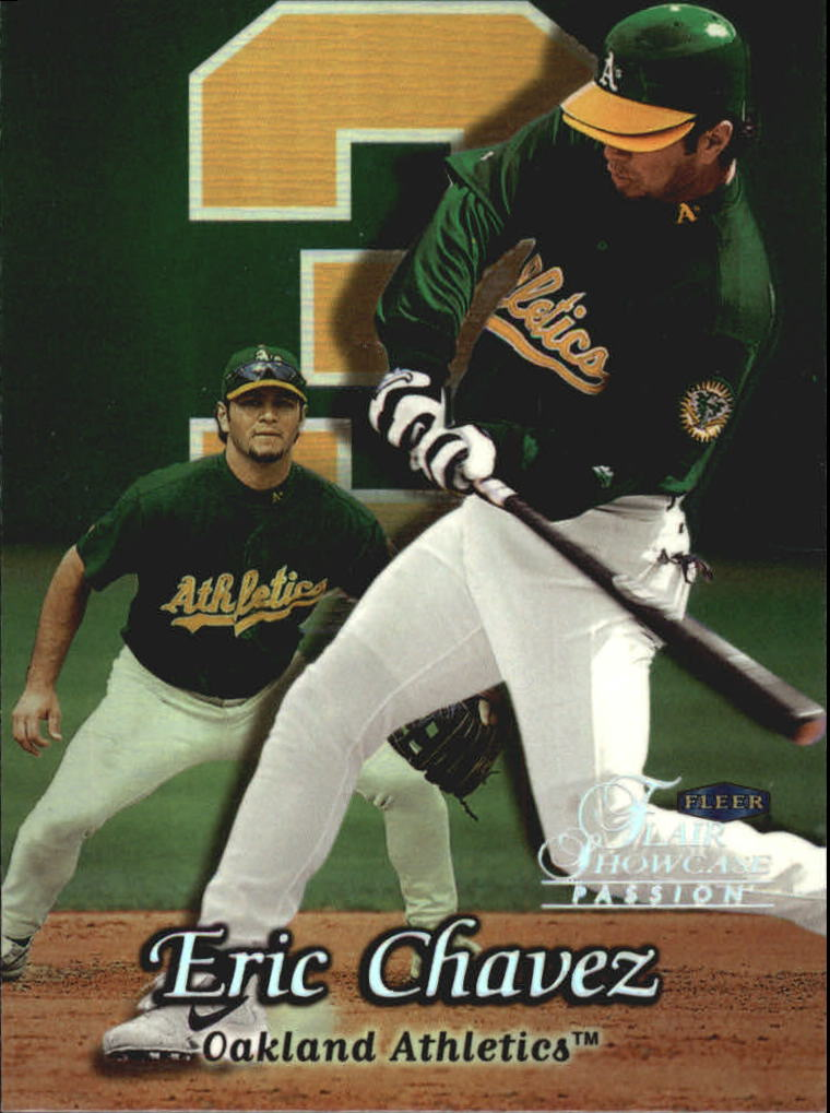 1999 Flair Showcase Row 2 #33 Eric Chavez