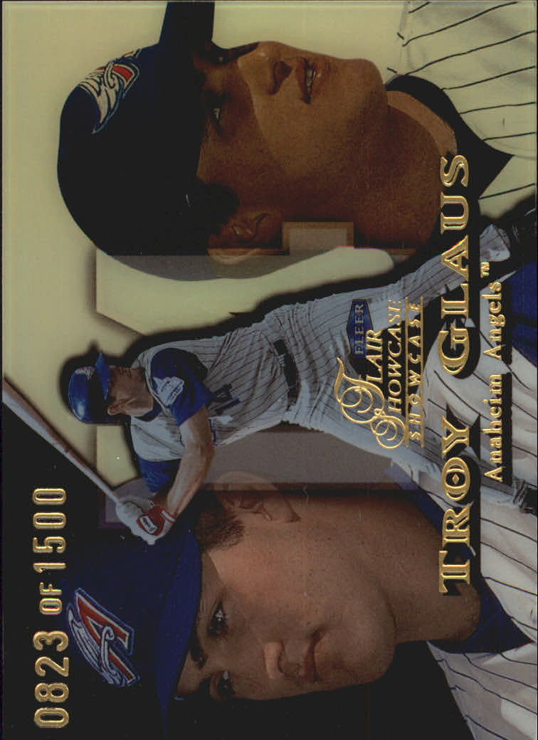 1999 Flair Showcase Row 1 #12 Troy Glaus