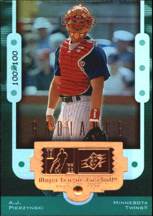 1999 SPx Finite Radiance #105 A.J. Pierzynski