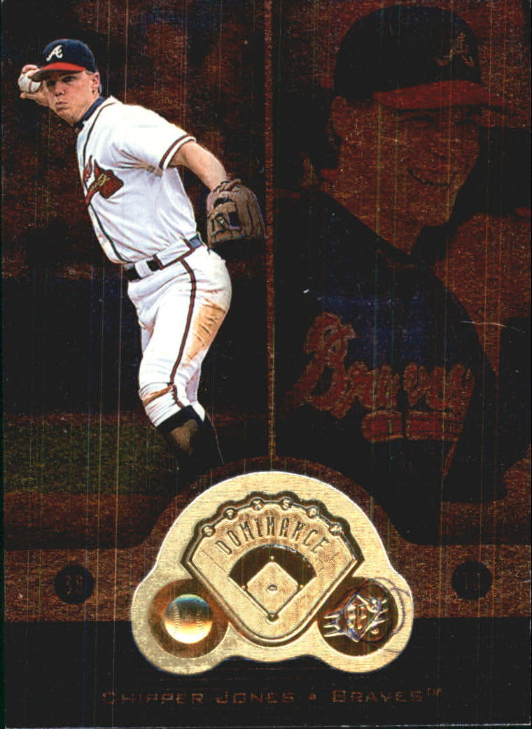 1999 SPx Dominance #FB1 Chipper Jones