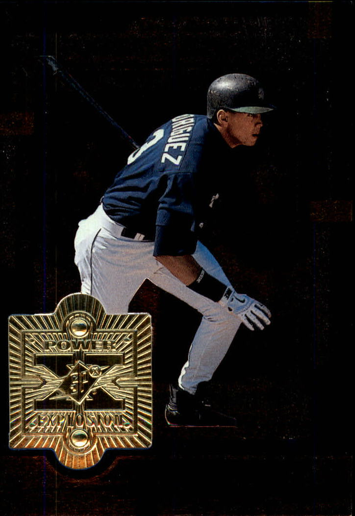 1999 SPx Power Explosion #PE26 Alex Rodriguez
