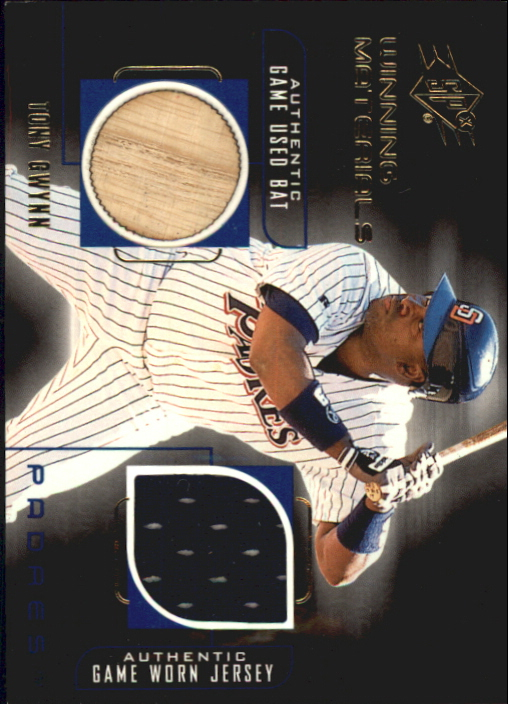 1999 SPx Winning Materials #TG Tony Gwynn