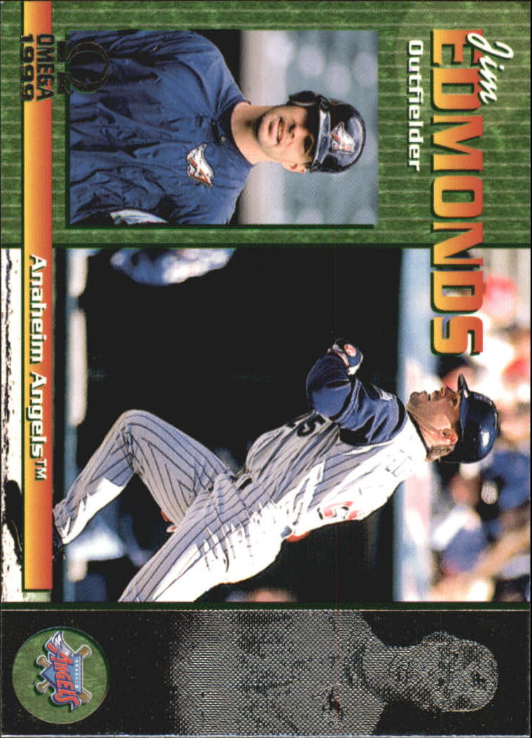 1999 Pacific Omega #2 Jim Edmonds