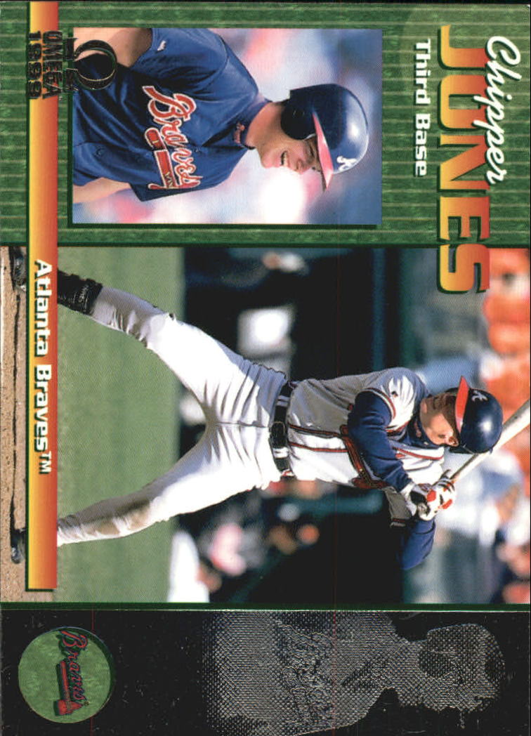 1999 Pacific Omega #22 Chipper Jones