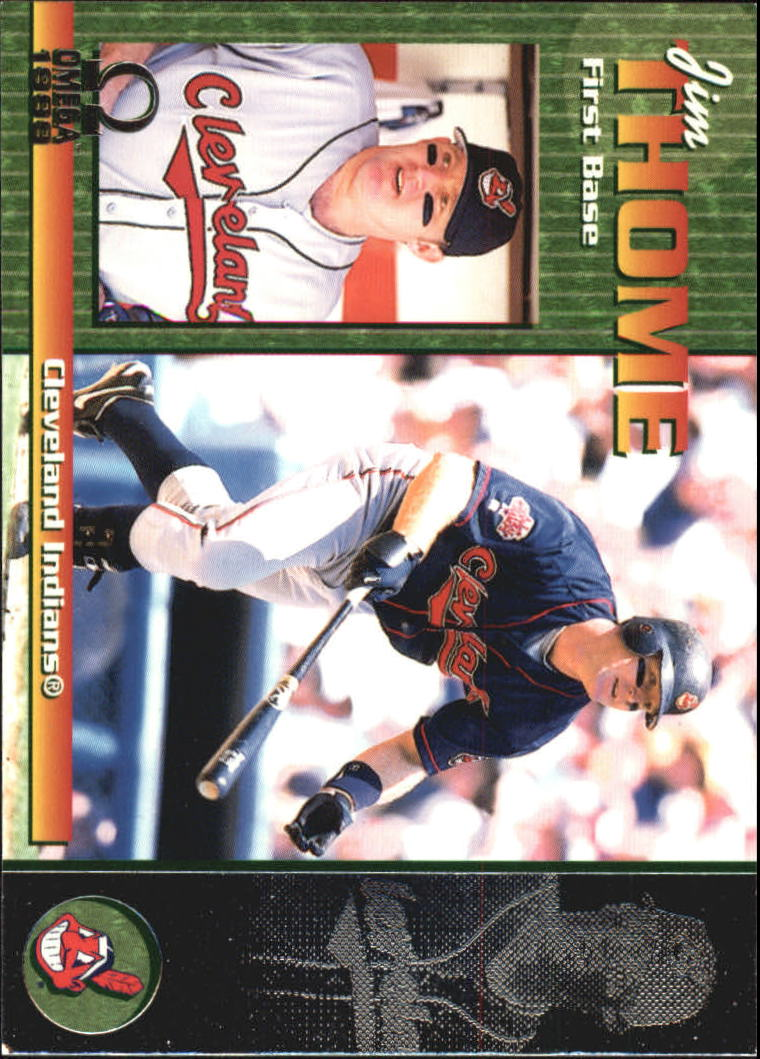 1999 Pacific Omega #77 Jim Thome