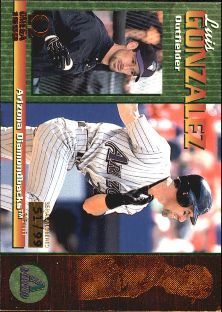 1999 Pacific Omega Copper #12 Luis Gonzalez