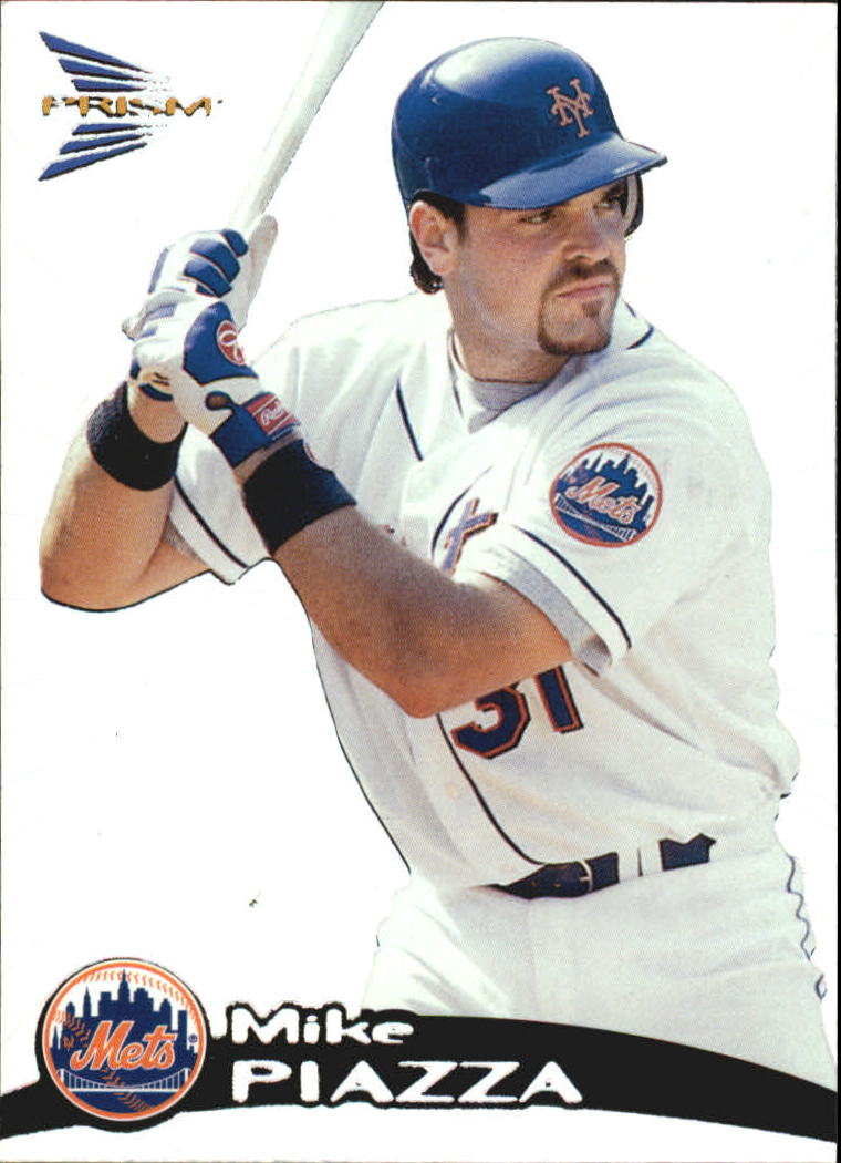 1999 Pacific Prism #96 Mike Piazza