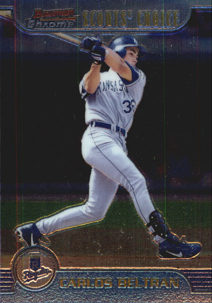 1999 Bowman Chrome Scout's Choice #SC8 Carlos Beltran
