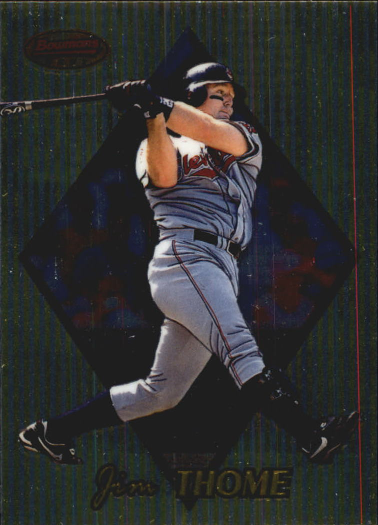 1999 Bowman's Best #18 Jim Thome front image