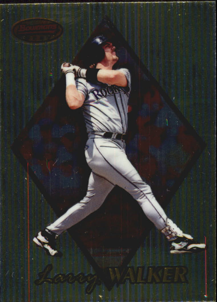 1999 Bowman's Best #33 Larry Walker