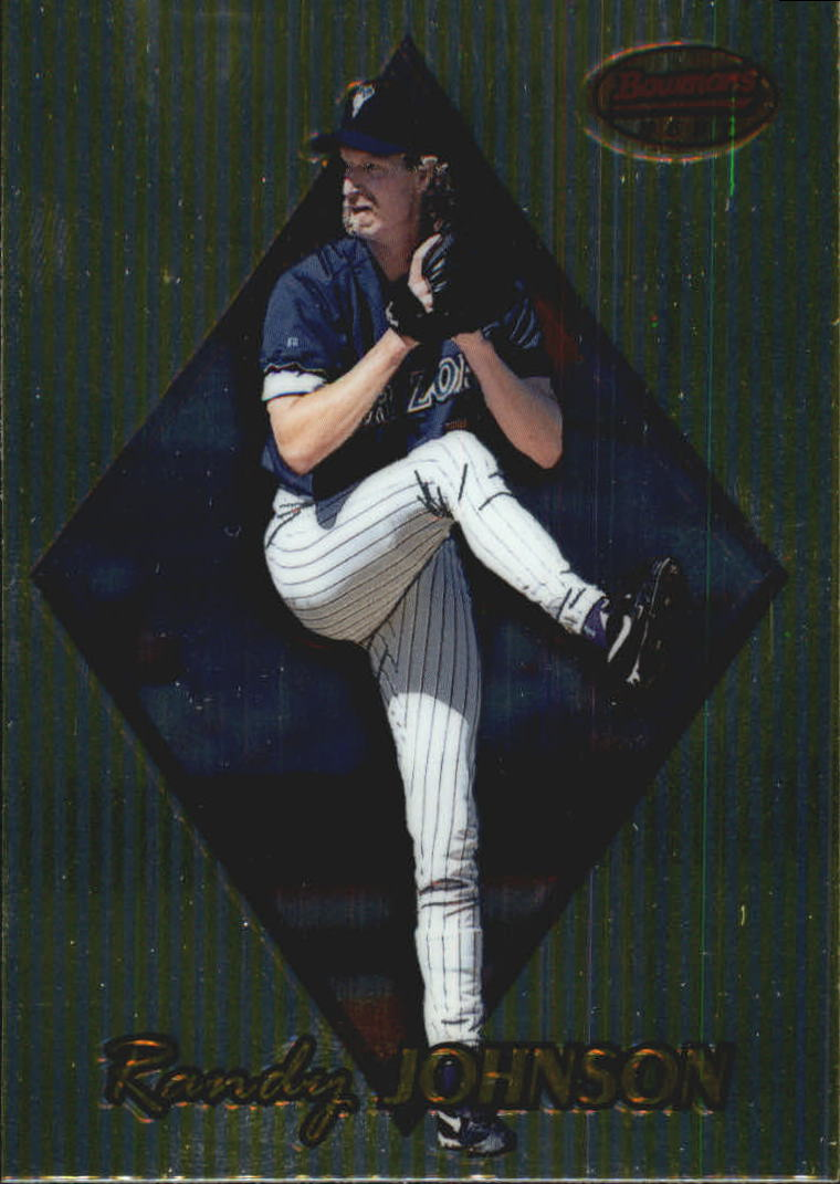 1999 Bowman's Best #74 Randy Johnson