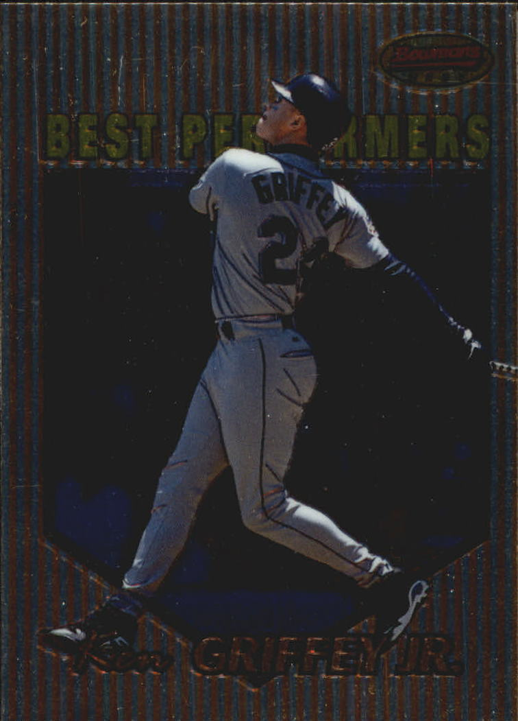 1999 Bowman's Best #86 Ken Griffey Jr. BP