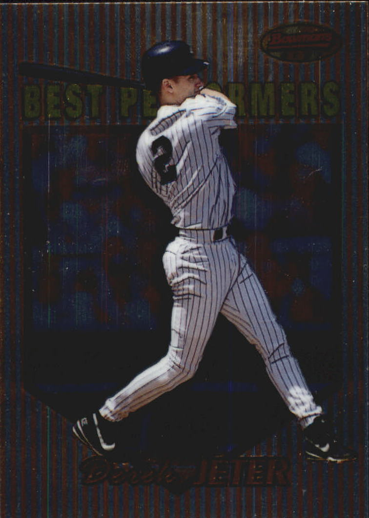 1999 Bowman's Best #88 Derek Jeter BP