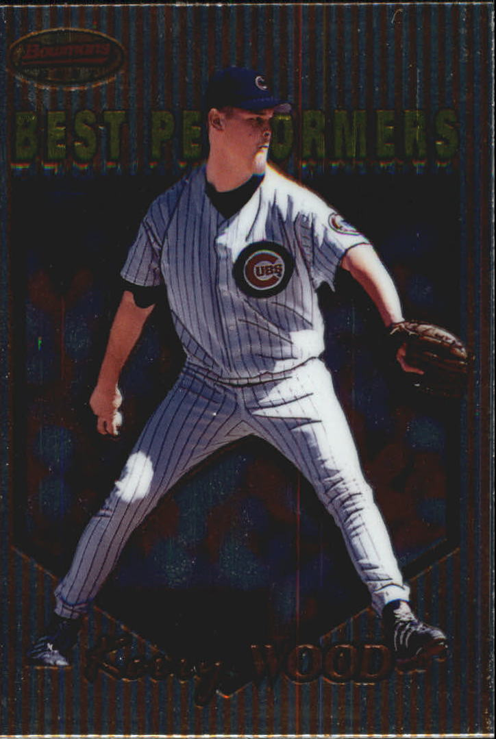 1999 Bowman's Best #96 Kerry Wood BP