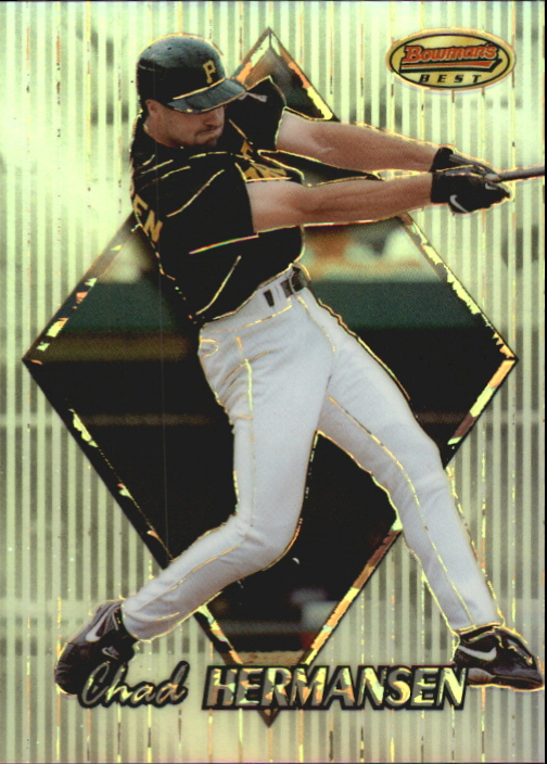 1999 Bowman's Best Atomic Refractors #108 Chad Hermansen
