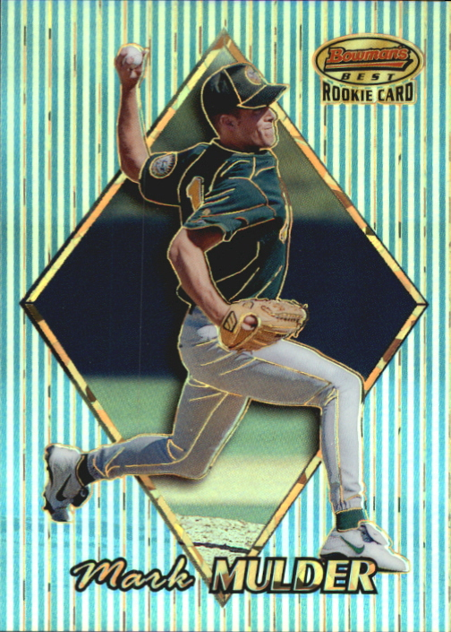 1999 Bowman's Best Atomic Refractors #164 Mark Mulder