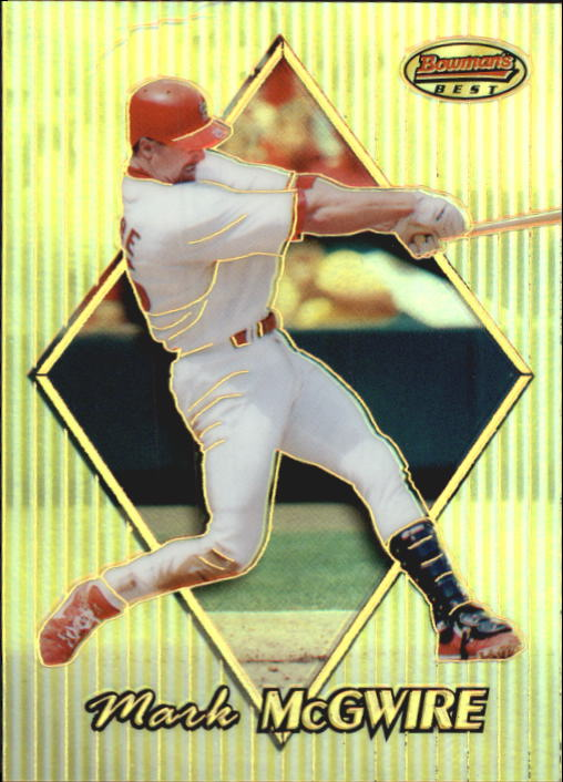 1999 Bowman's Best Refractors #70 Mark McGwire