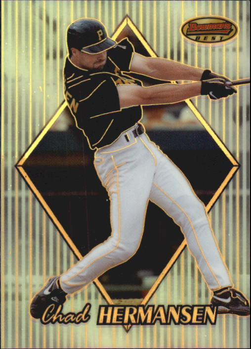 1999 Bowman's Best Refractors #108 Chad Hermansen
