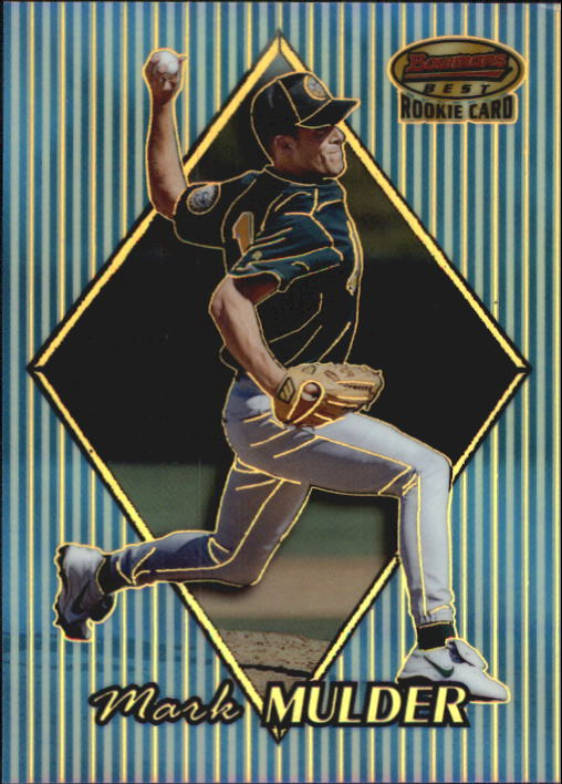 1999 Bowman's Best Refractors #164 Mark Mulder