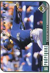1999 UD Choice Preview #143 Alex Rodriguez