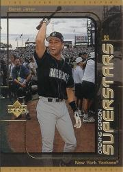 1999 UD Choice Superstars #S9 Derek Jeter