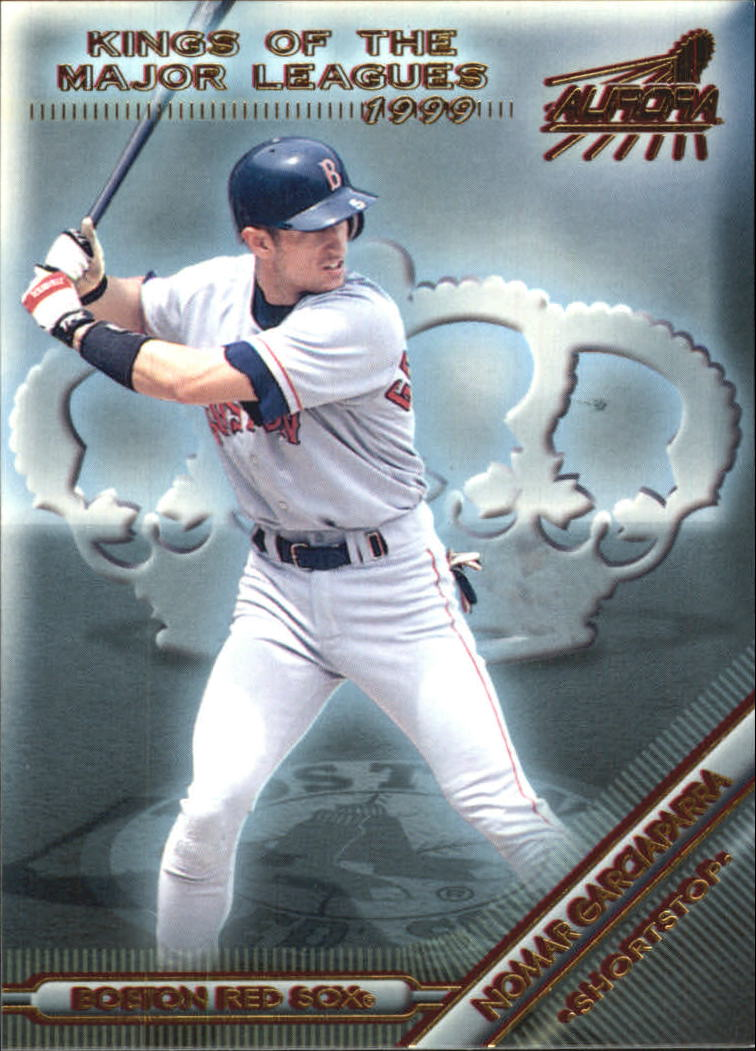 1999 Aurora Kings of the Major Leagues #2 Nomar Garciaparra