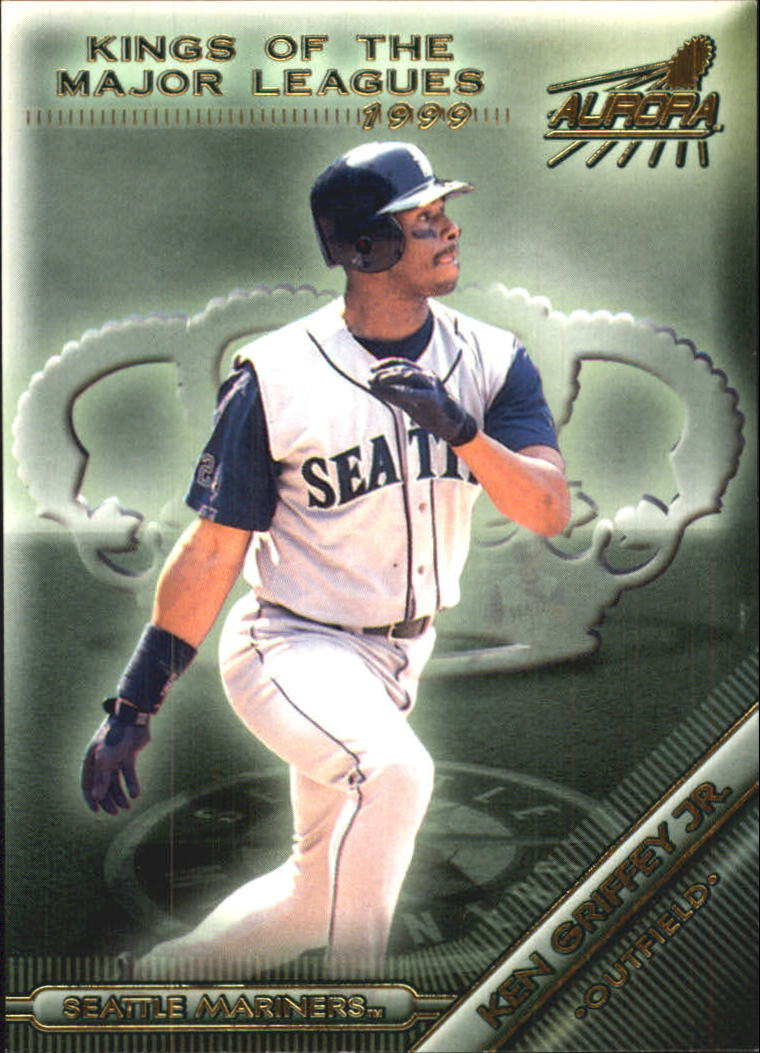 1999 Aurora Kings of the Major Leagues #9 Ken Griffey Jr.
