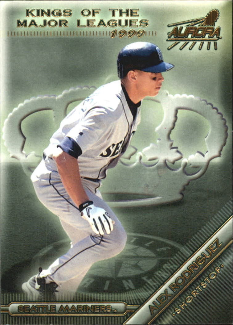 1999 Aurora Kings of the Major Leagues #10 Alex Rodriguez