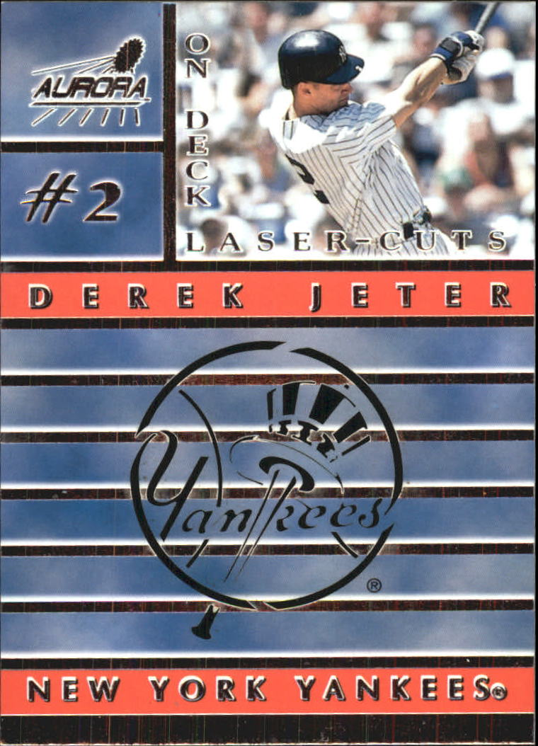 1999 Aurora On Deck Laser-Cuts #12 Derek Jeter