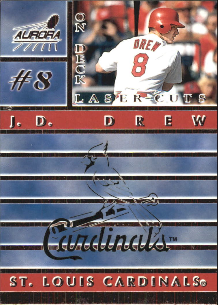 1999 Aurora On Deck Laser-Cuts #14 J.D. Drew