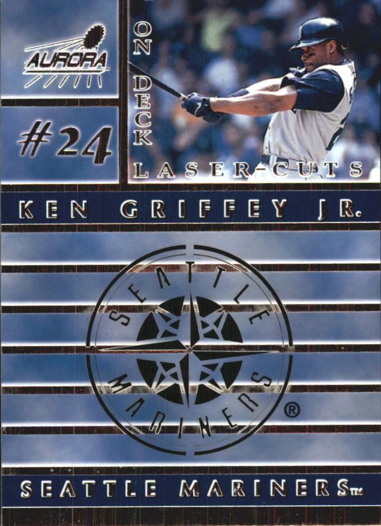 1999 Aurora On Deck Laser-Cuts #17 Ken Griffey Jr.