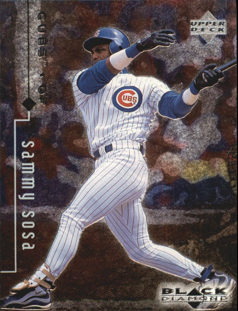 1999 Black Diamond #18 Sammy Sosa