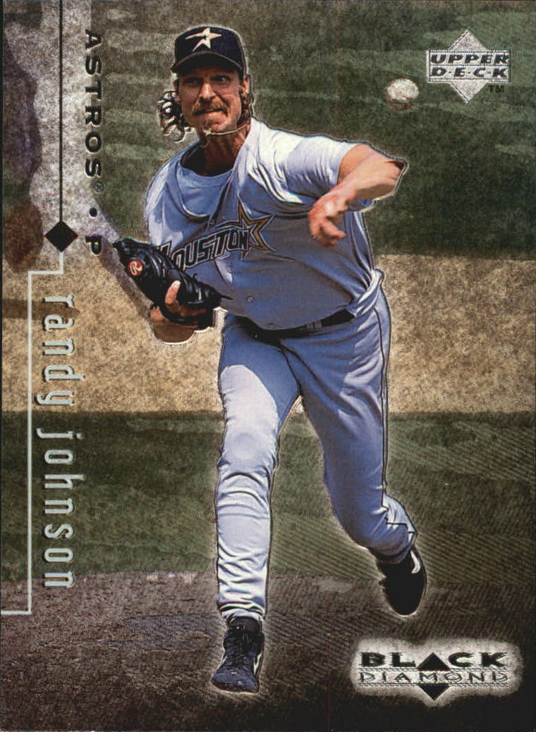 1999 Black Diamond #39 Randy Johnson
