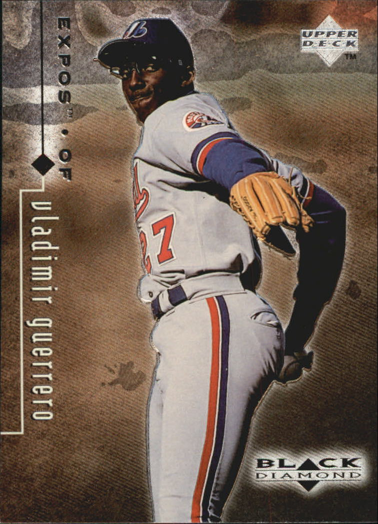 1999 Black Diamond #50 Vladimir Guerrero