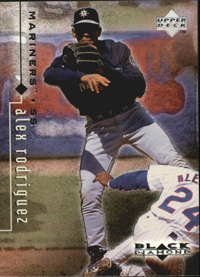 1999 Black Diamond #77 Alex Rodriguez