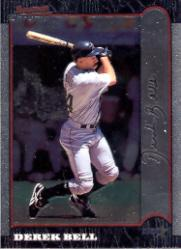 1999 Bowman Chrome #56 Derek Bell
