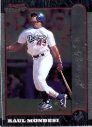 1999 Bowman Chrome #65 Raul Mondesi