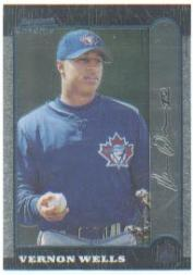 1999 Bowman Chrome #94 Vernon Wells