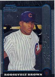 1999 Bowman Chrome #144 Mamon Tucker RC