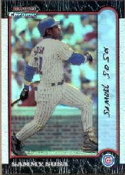 1999 Bowman Chrome #245 Sammy Sosa