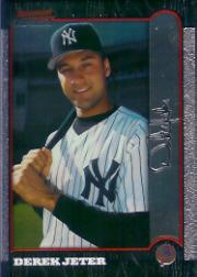 1999 Bowman Chrome #290 Derek Jeter