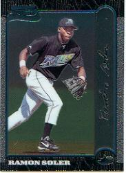 1999 Bowman Chrome #311 Ramon Soler RC