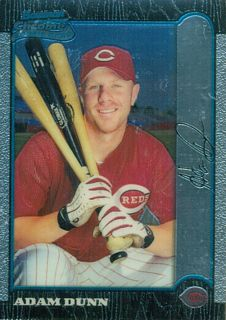1999 Bowman Chrome #369 Adam Dunn RC