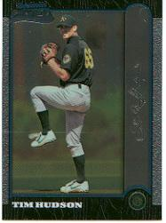 1999 Bowman Chrome #375 Tim Hudson RC