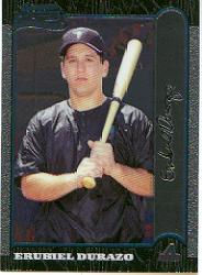 1999 Bowman Chrome #380 Erubiel Durazo RC