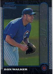 1999 Bowman Chrome #389 Ron Walker RC